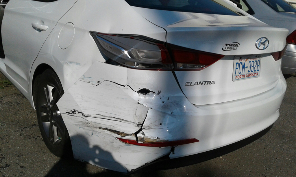 Hyundai Of Asheville >> Why are new cars magnet for accidents? Rear-ended - Hyundai Forums : Hyundai Forum
