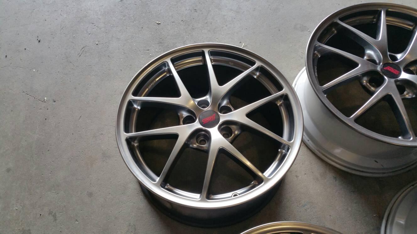 Fs Usa Ny 2015 Sti Limited Bbs Wheels Subaru Impreza