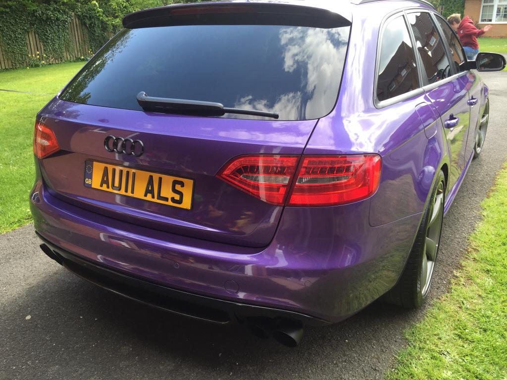 A4 B8 Led Rear Lights