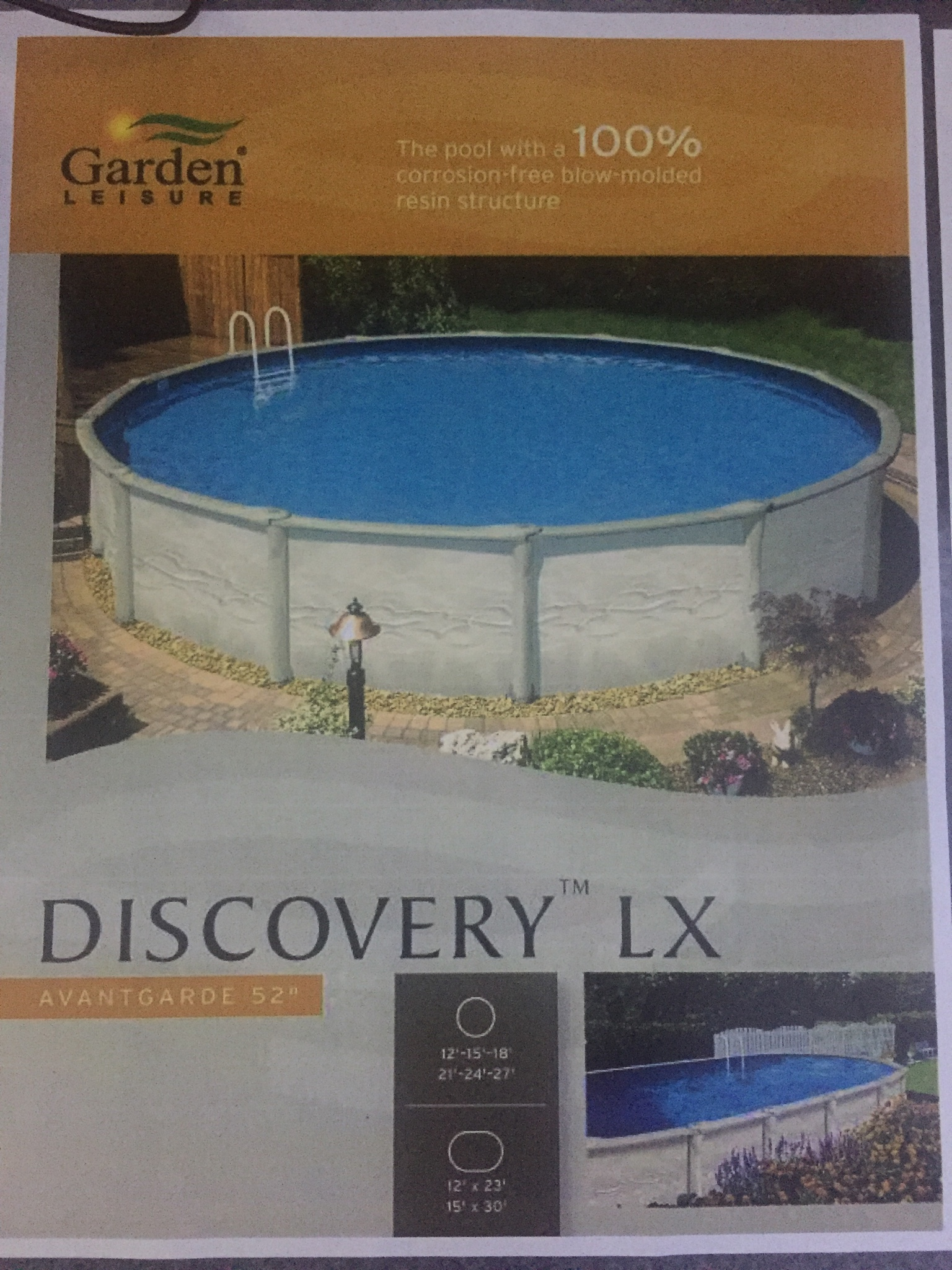 Salt water upgrade for above ground pool