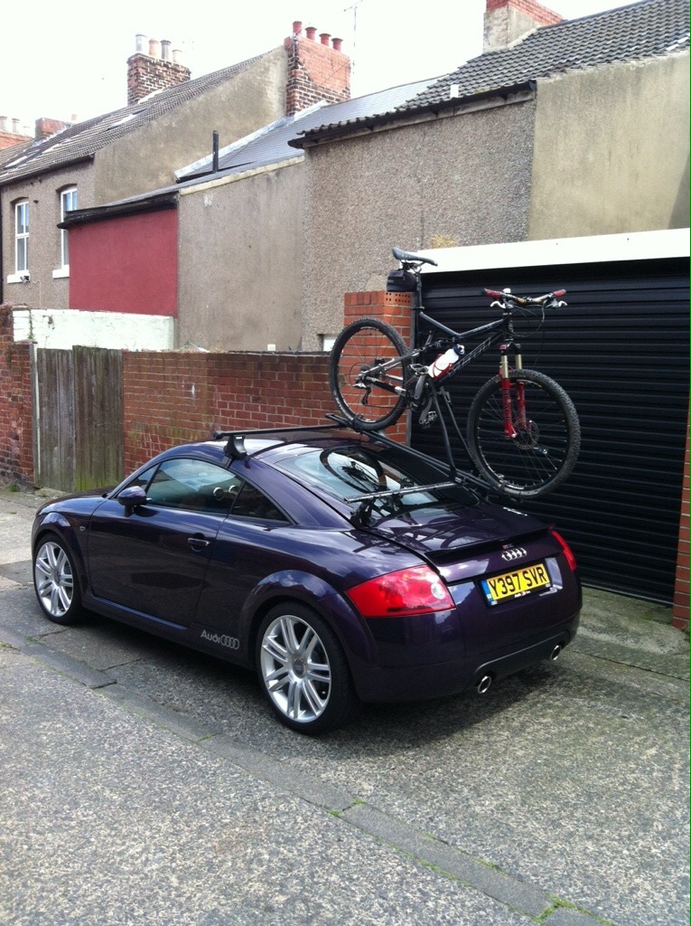 The Audi Tt Forum View Topic Bike Rack For Mk1 Coupe