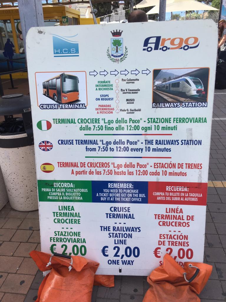 Bus From Port To Civitavecchia Train Station Cruise Critic - Civitavecchia train station to cruise ship