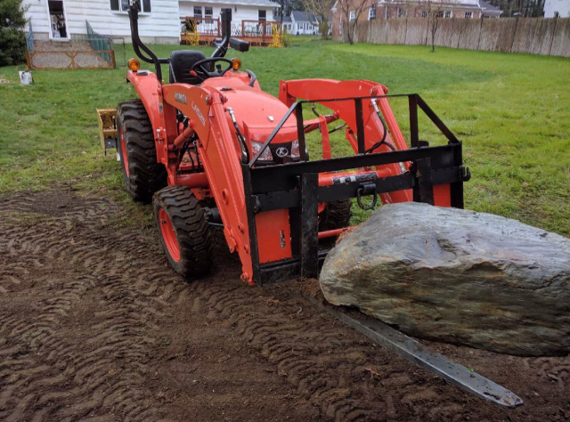 Kubota Ballast Box : How much rear ballast orangetractortalks everything kubota