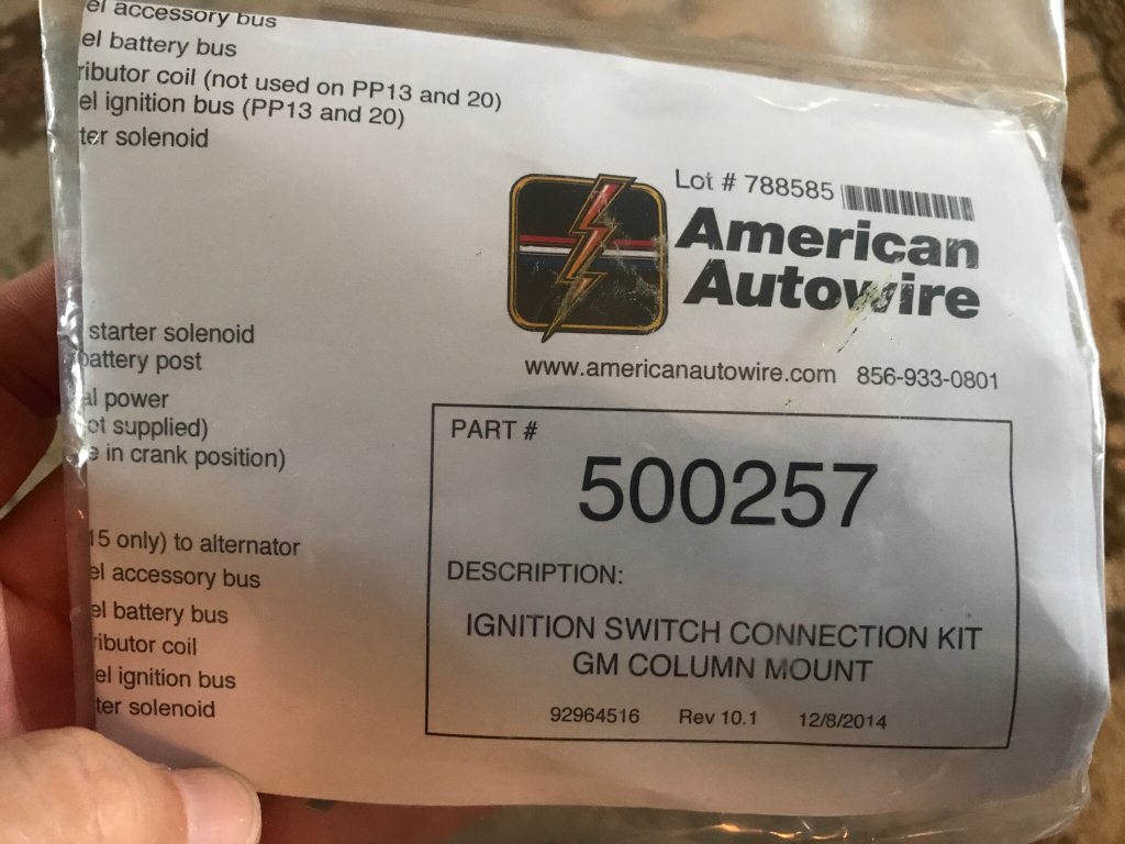 84 Cj 7 Elec Harness Replace And Wire Connectors Help Spade Carling Switch Wiring Jeepforumcom American Autowire Has What You Need