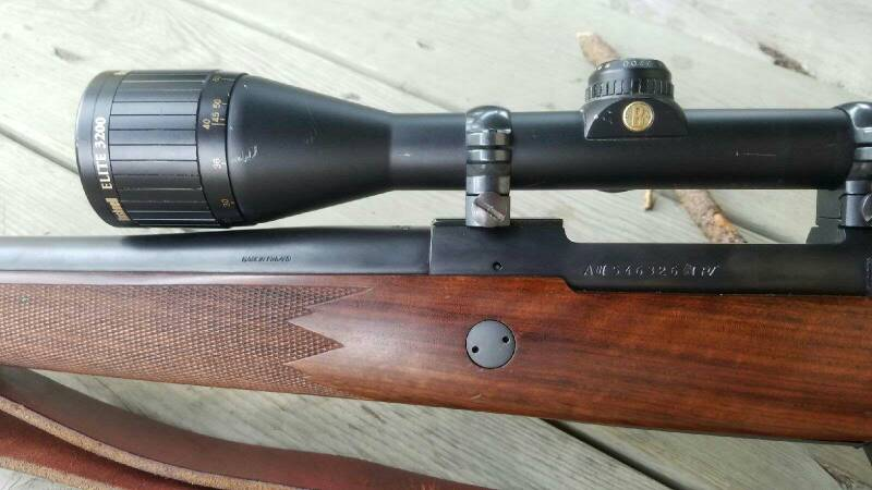 WTS: Sako A3 Rifle Package and 71/84 11mm Mauser