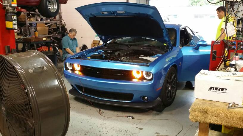 2016 Challenger Rt Scat Pack B5 Blue 40 000