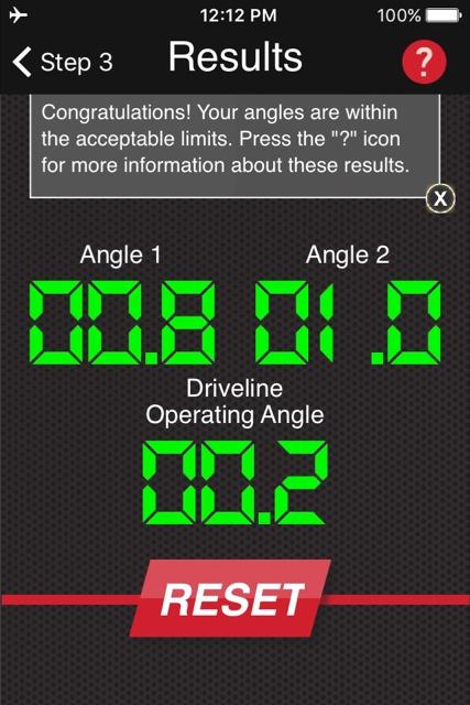 Driveline Angles - Chevelle Tech