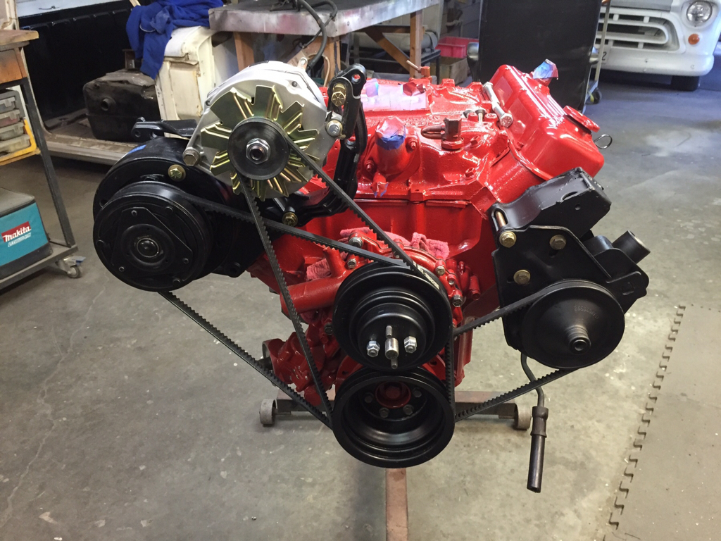 Questions About my Buick 350 Brackets and Manifolds - Full