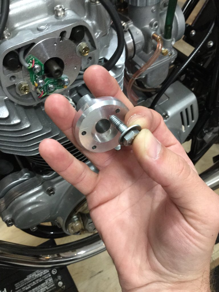 Pamco Electronic Ignition for CB360 (rotor interference issue)