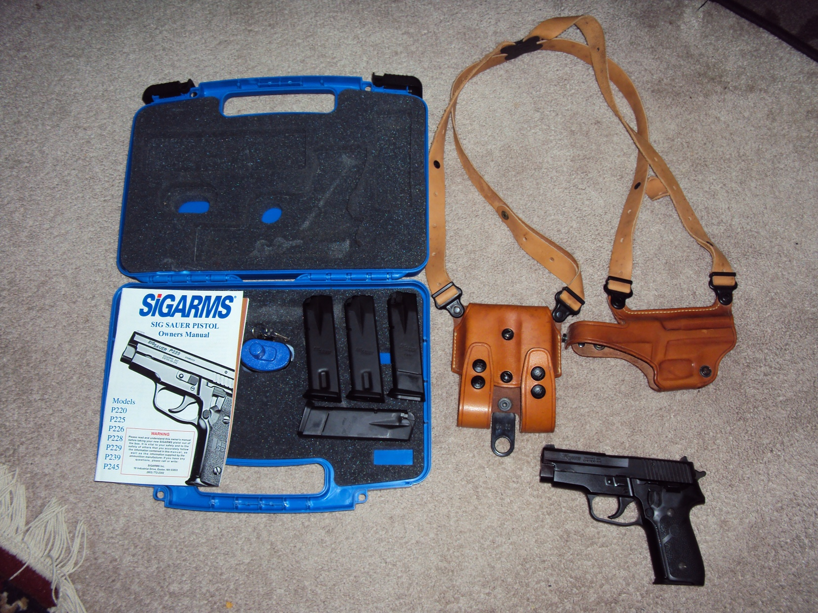 Sigarms Sig Sauer Pistol P220 P225 P226 P228 P229 P239 P245 Owner/'s Manual