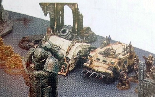New Death Guard tank (and other stuff) - Wargaming Forum and
