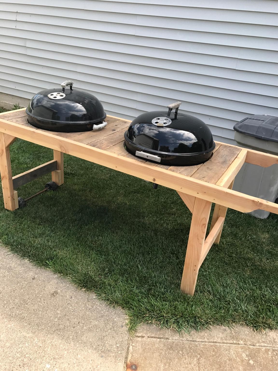 dual kettle table