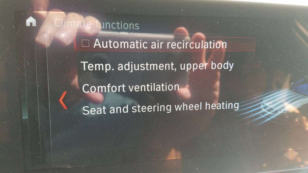 What is that Air Recirculation checkbox above the upper air