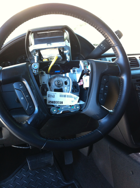 Edge Insight Cts2 >> DIY: LMM Airbag & Steering Wheel Trim Removal - Chevy and ...
