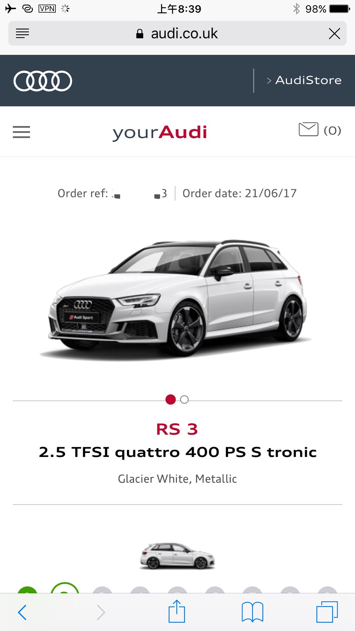 I Placed My Order On 21st Of June, 63,340GBP After All.