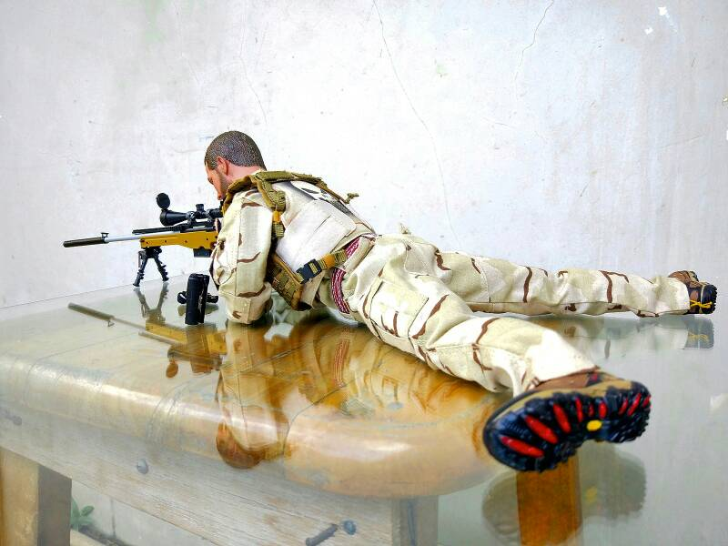 American Sniper Toys : Chris kyle quot american sniper figure from bkack ops