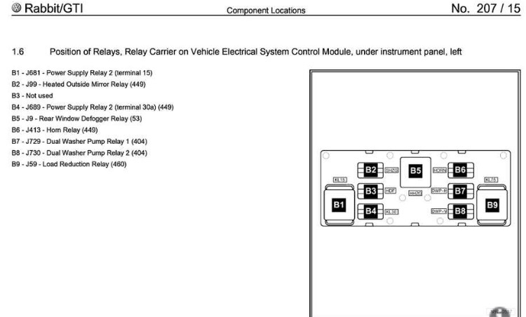 Wiper relay mk5 general area mk5 golf gti i changed the load reduction relay 460 on mine when my washers 12v sockets and rear wiper werent workingb9 on the diagram ccuart Image collections