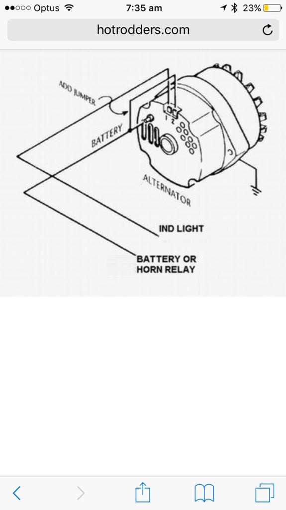 Alt Warning Dash Light