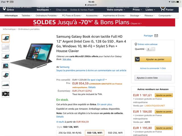 Επισημο] Samsung Galaxy Book Family 2 in 1 Tablet PC : Σελίδα 2 ...