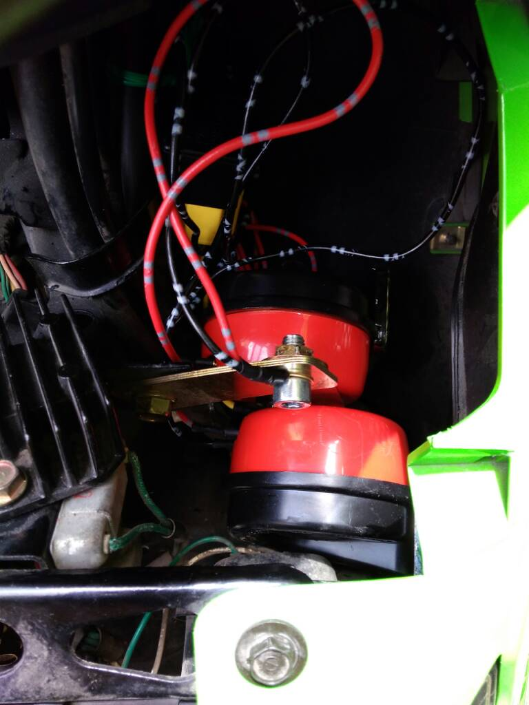 Lets Talk Horns Adventure Rider Kymco Wiring Harness Here Is The Sample