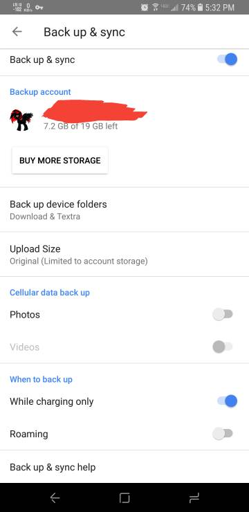 Screenshots in Google Photos - Android Forums at