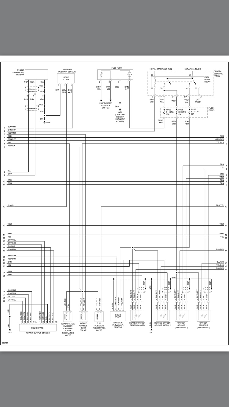 abz wire diagram  pg1 pg2
