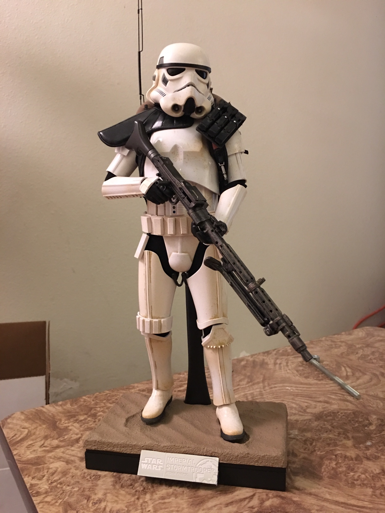 Hot Toys Star Wars RO Jedha Patrol Stormtrooper Lower Armour loose 1//6th scale