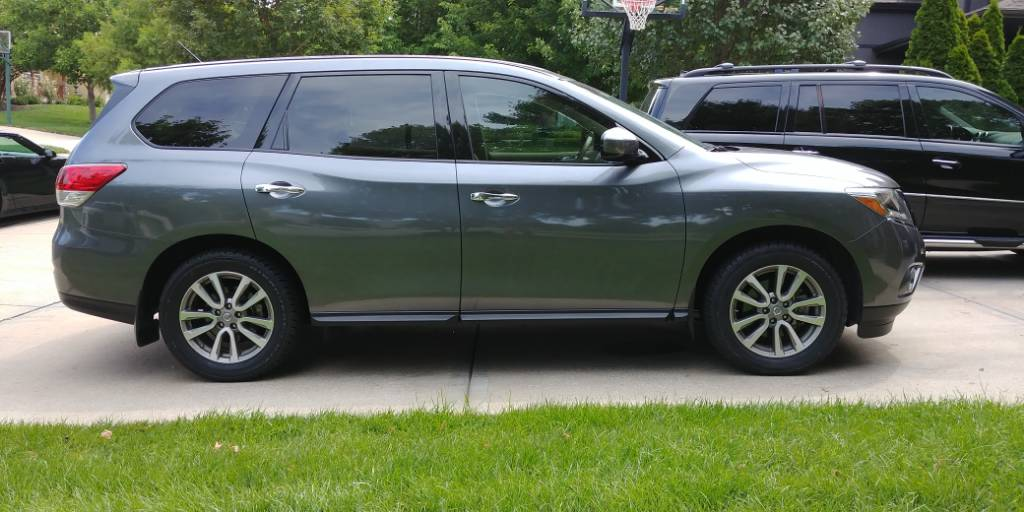 2015 Pathfinder S Fwd With 255 55 18 Cooper Discoverer H T