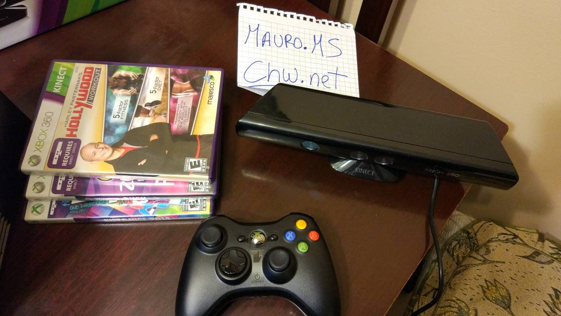 Xbox360 Xbox Kinect Y Juegos Baile