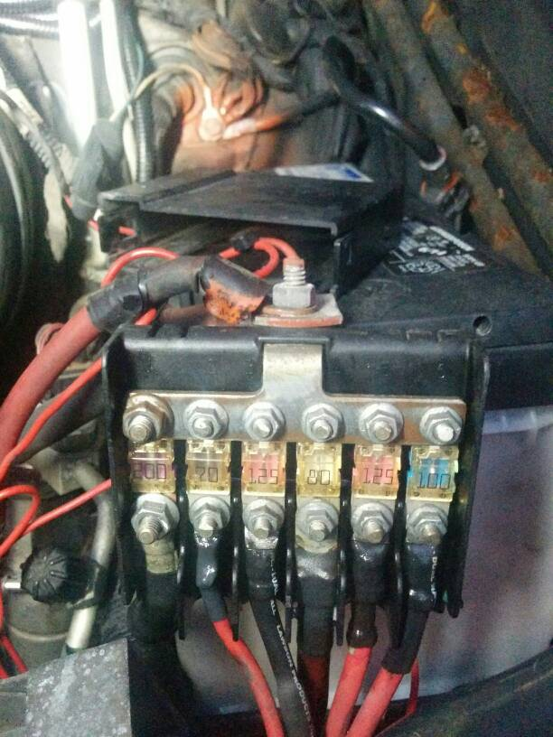 Passenger T1n Specific Fuse Box