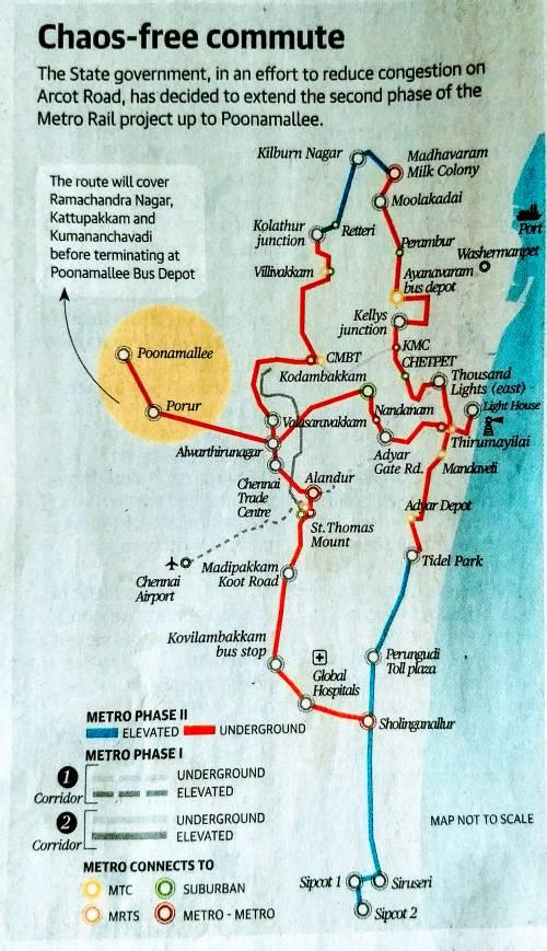 Chennai | Metro | சென்னை மெட்ரோ ரயில்