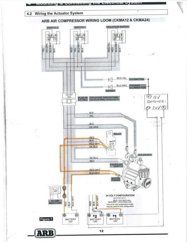 arb compressor switch wiring trusted wiring diagram u2022 rh soulmatestyle co York Compressor Wiring Diagram Air Compressor 240V Wiring-Diagram