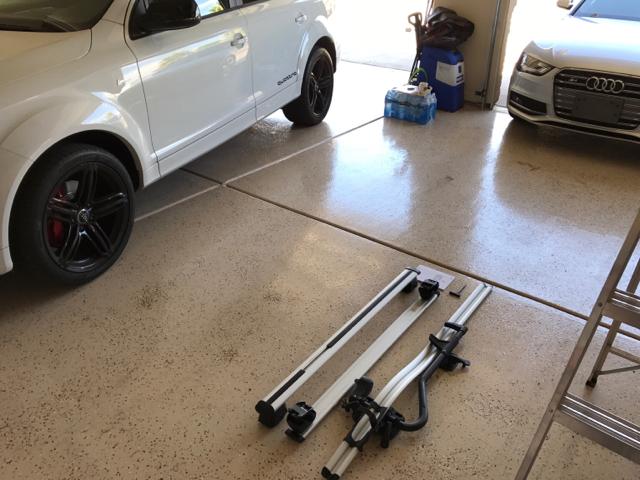 For Sale Fs Audi Oem Allroad Roof Rack Cross Bars And