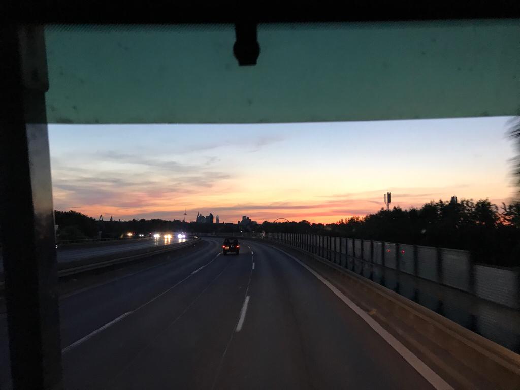 Ab in den Sonnenuntergang!