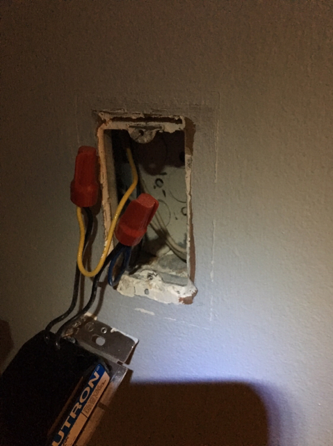 i am trying to rewire a dimmer switch to a single pole light switch  i  opened up the switch and found this: