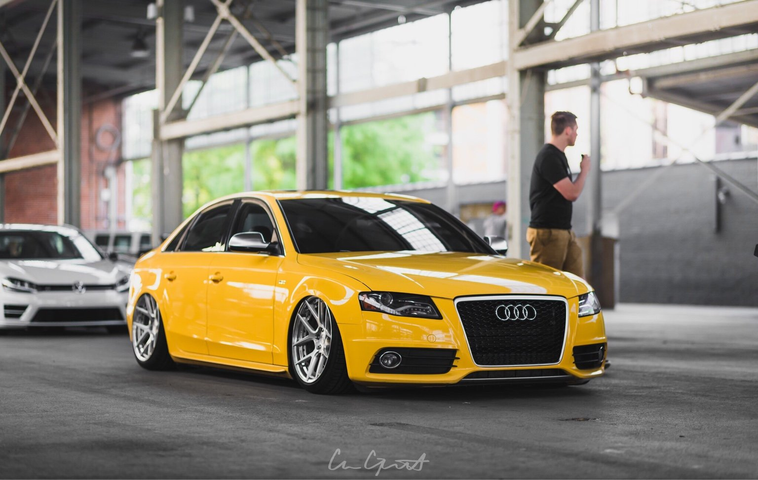 For Sale: FS: Imola Yellow B8 S4 (lots of mods)