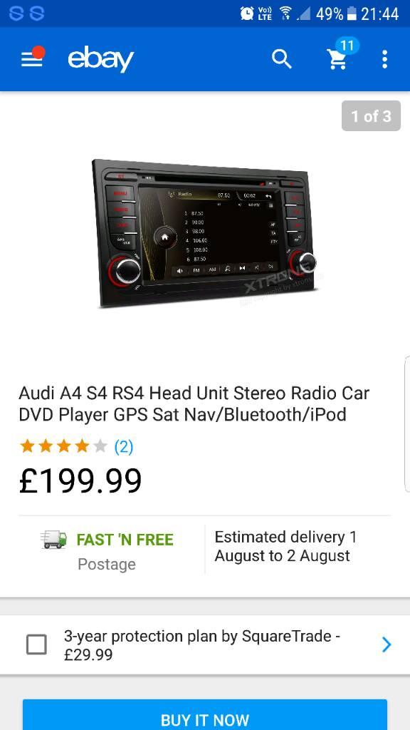 Replacement Double Din Head Unit | Audi-Sport net