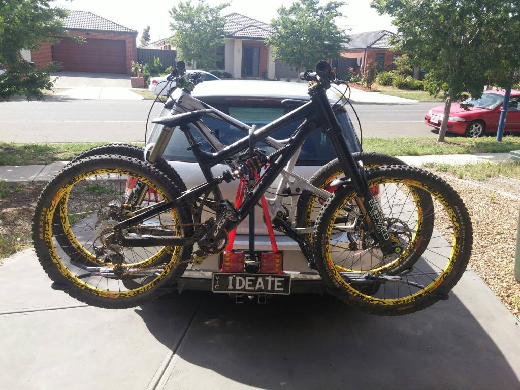 [ IMG] ... & NSW - FOUND Number plate board with lights for Bike rack | Rotorburn ...