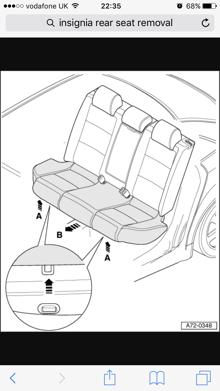 How do I remove the rear seat backrest