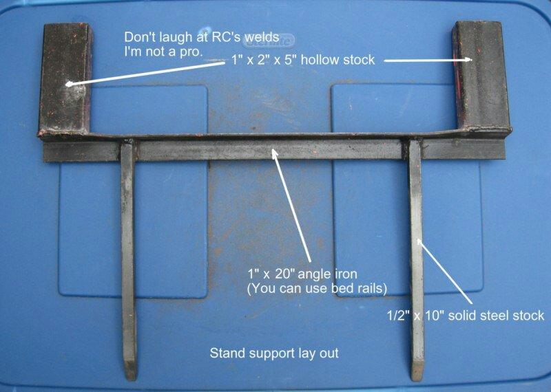 How To Build A Steel Target Stand