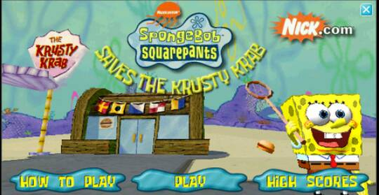 old spongebob games flip or flop
