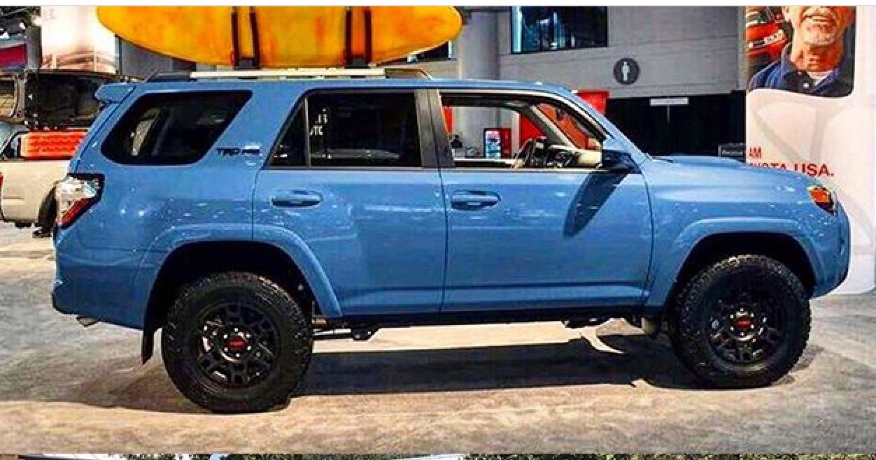 2018 TRD Pro colors - Page 6 - Toyota 4Runner Forum - Largest 4Runner Forum