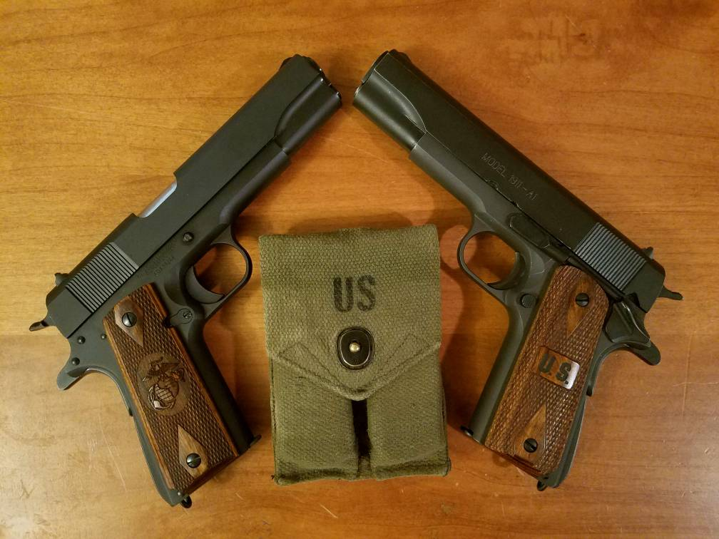 I Already Have Both The Mil Specs From Auto Ordnance And Springfield