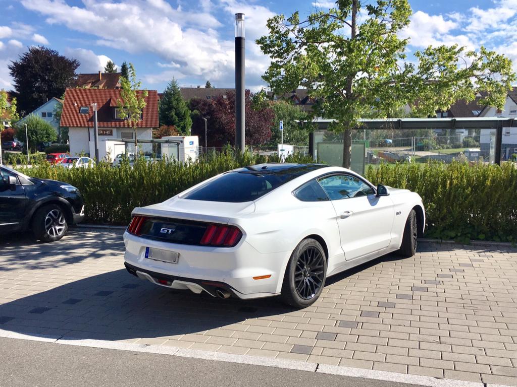 Folierung Der Fensterleisten Mustang 6 Forum 2015 2019