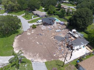 Drones used to map Florida Sinkhole | DJI Mavic Drone Forum