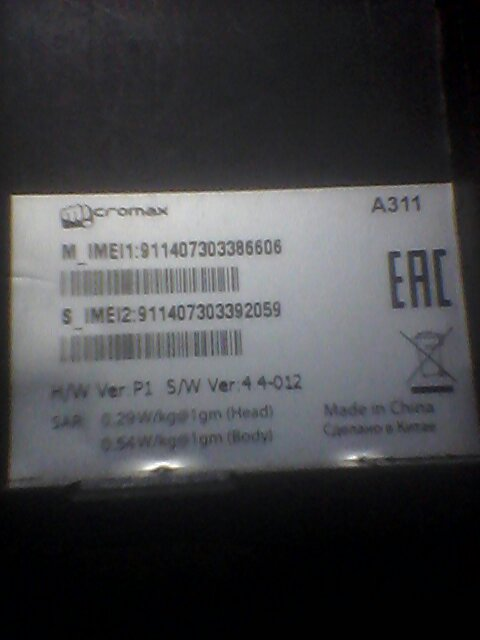 Micromax a311 Flash ok with ygdp tool, still hang on logo