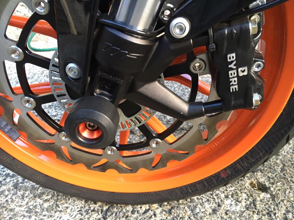 KIT DI MONTAGGIO X-BRAKE KTM 15