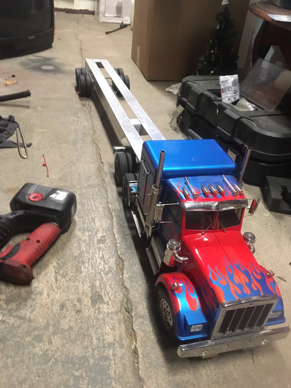 tamiya king hauler trailer build the rcsparks studio online