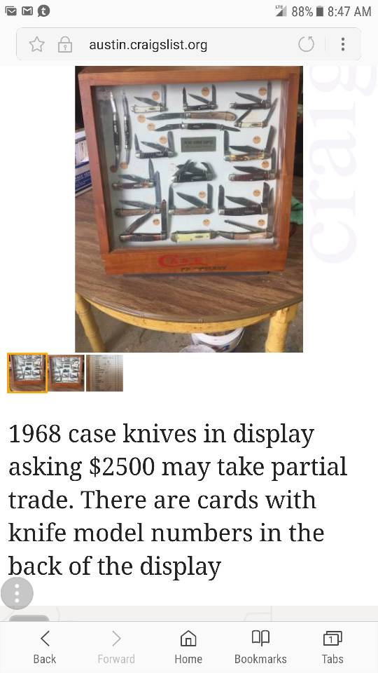I Saw This Incredible Knife Collection On Austin Craigslist