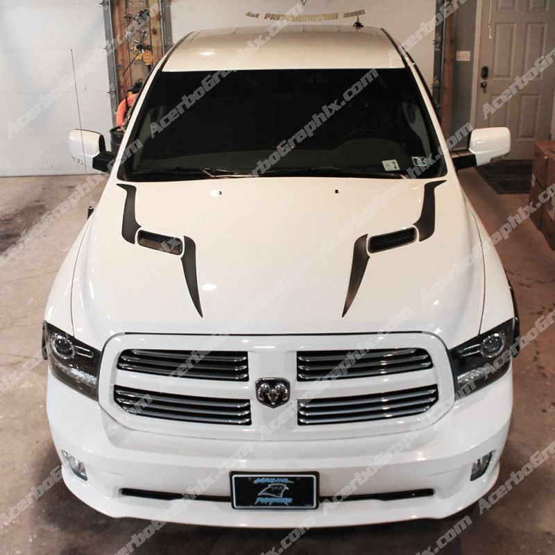 who has decals on their 4th gen page 17 dodge ram. Black Bedroom Furniture Sets. Home Design Ideas